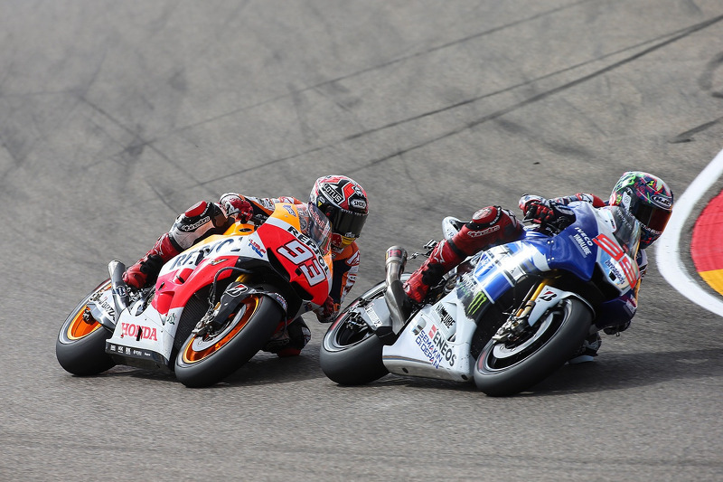 Marc Marquez and Jorge Lorenzo, Yamaha