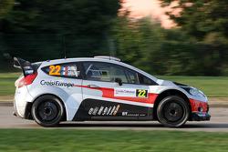Romain Dumas e Denis Giraudet, Ford Fiesta RS WRC