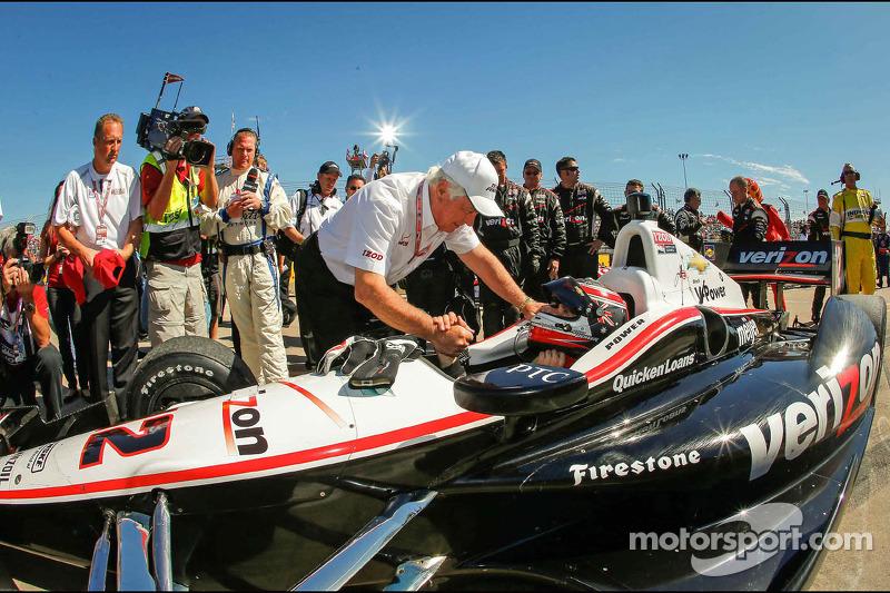 Race winner Will Power