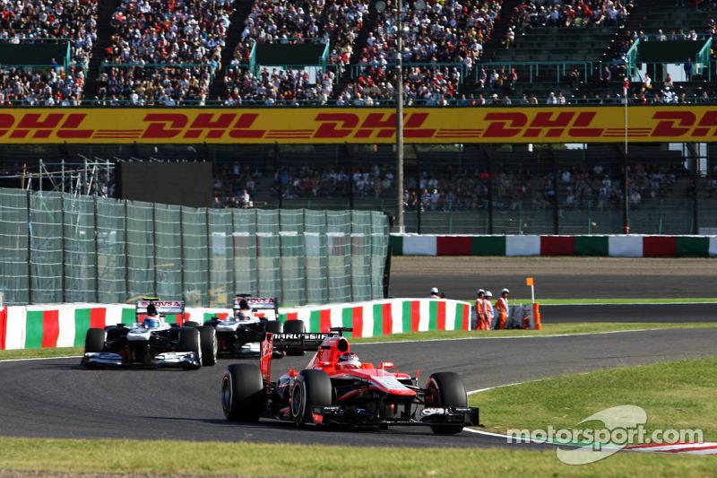 Jules Bianchi, Marussia F1 Team MR02