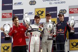 Podium: 1st Alex Lynn, 2nd Alexander Sims, 3rd Daniil Kvyat