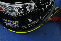 New front splitter on the Earnhardt Ganassi Racing Chevrolet