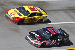Denny Hamlin and Joey Logano