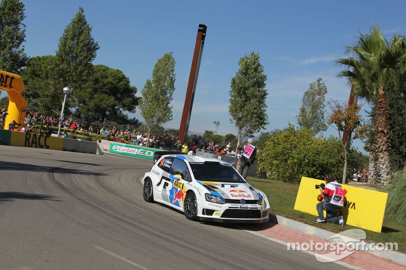Andreas Mikkelsen e Paul Nagle, Volkswagen Polo WRC, Volkswagen Motorsport