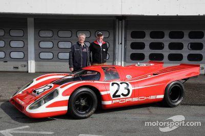 Autos ganadores de Porsche Le Mans