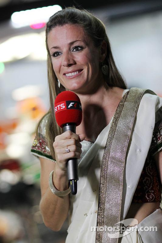 Natalie Pinkham, Sky Sports  repórter