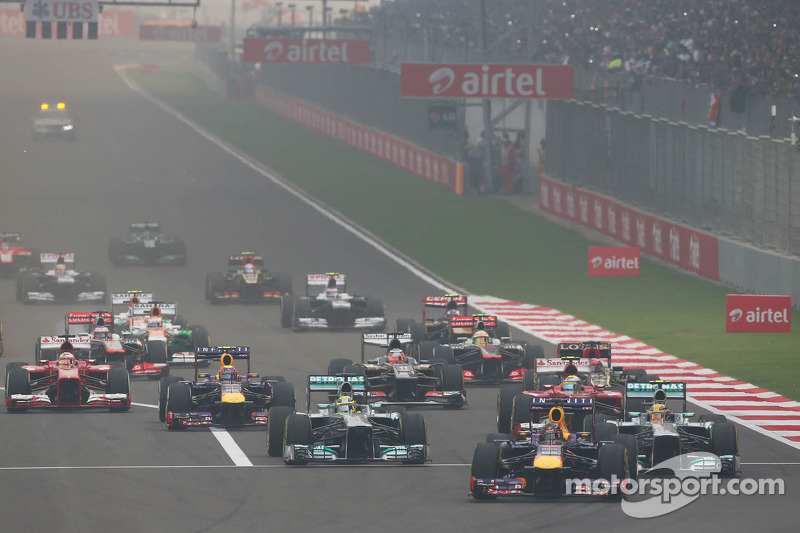 Vettel onklopbaar in India