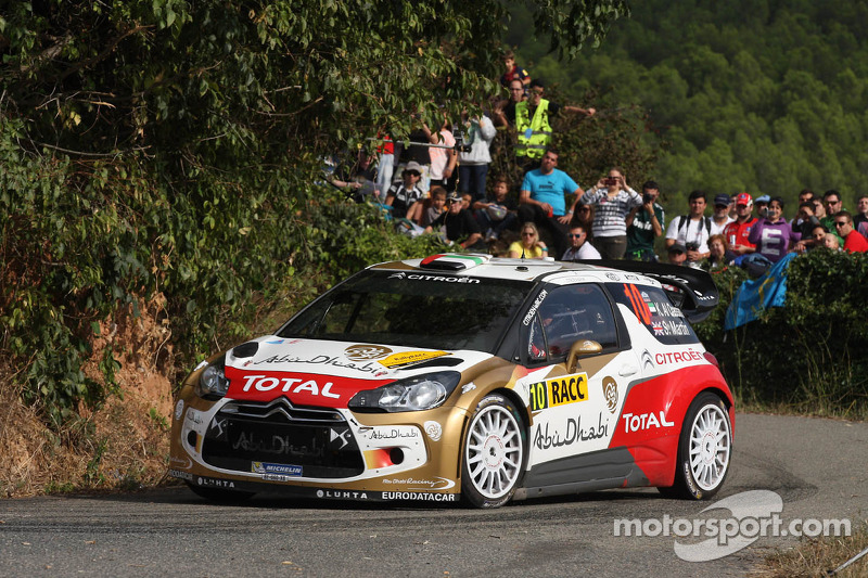 Khalid Al Qassimi y Scott Martin, Citroën Total Abu Dhabi World Rally Team