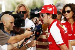 Fernando Alonso, Ferrari com a imprensa