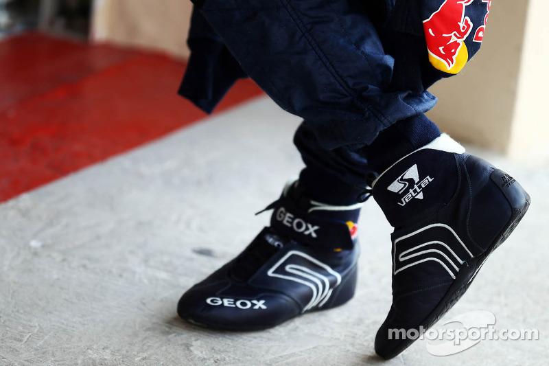 e2b9b0b2fbac Racing boots of Sebastian Vettel