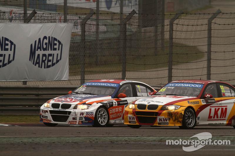 Charles Ng, BMW E90 320 TC, Liqui Moly Team Engstler en Darryl O'Young, BMW E90 320 TC, ROAL Motorsport