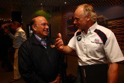 L to R Joao Manuel Costa Antunes,  The coordinator of Macau Grand Prix Committee and Franz Engstler, BMW E90 320 TC, Liqui Moly Team