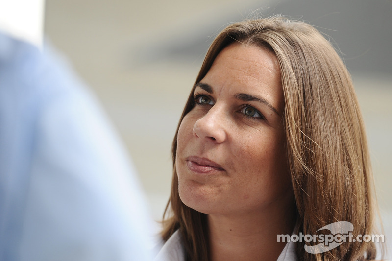 Claire Williams, head of Williams F1 Team