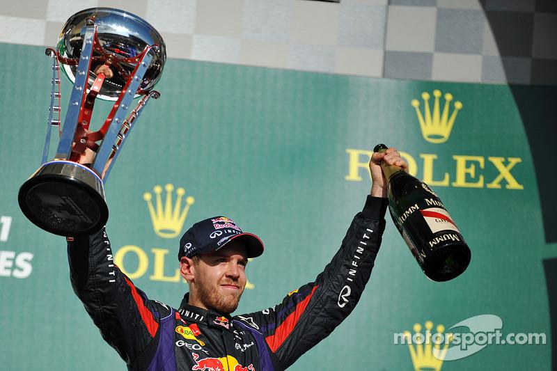 Sebastian Vettel( 2010, 2011, 2012, 2013)