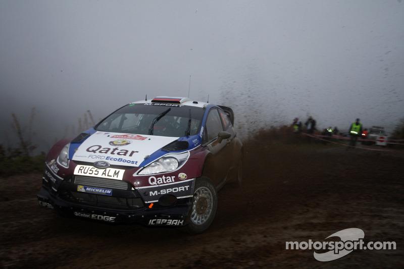 Evgeny Novikov y Ilka Minor, Ford Fiesta WRC, Qatar M-Sport WRT