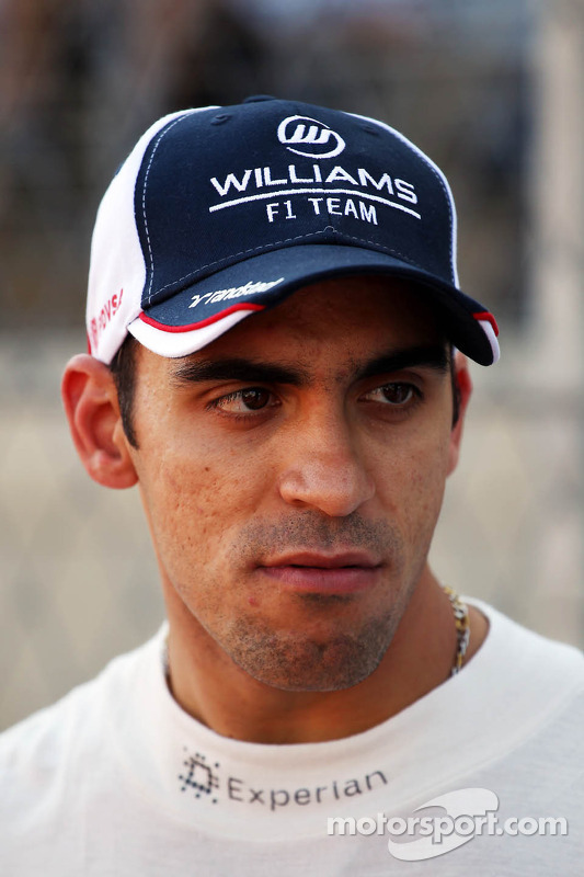 Pastor Maldonado, Williams no grid
