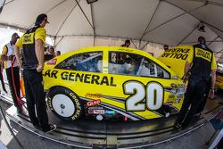 Joe Gibbs Racing Toyota of Matt Kenseth at tech inspection
