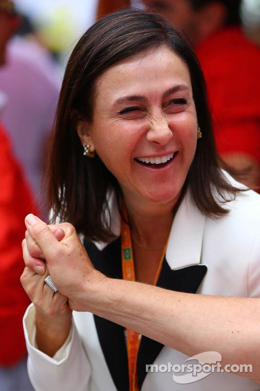 Ana Helena Massa, mãe de Felipe Massa, Ferrari