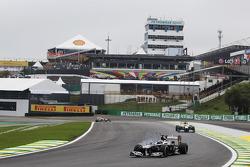 Valtteri Bottas, Williams FW35 trava na freada