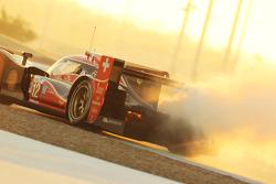#12 Rebellion Racing Lola B12/60 Coupe - Toyota: Andrea Belicchi, Mathias Beche, Nicolas Prost in de problemen