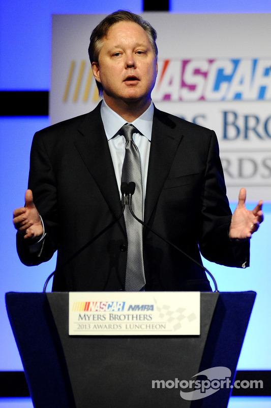 Brian France, presidente e CEO da NASCAR