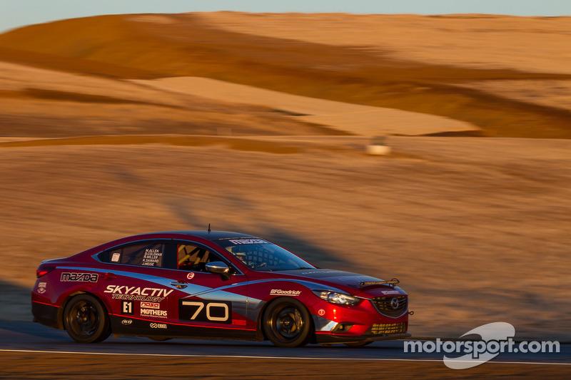 #70 Mazdaspeed Factory Guys Mazda 6 Diesel: Mike Allen, Dave Coleman, Nathan Edmonds, Jason Meise, Randy Miller, Ken Saward