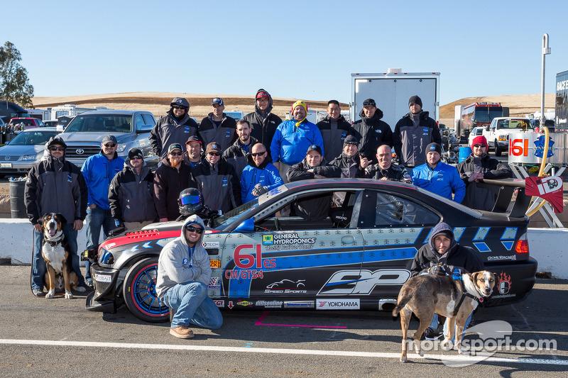 Klasse-winnaars #61 Stammer-Inc / Bavarian Performance BMW M3-E46: Matt Crandall, Gregory Liefooghe,