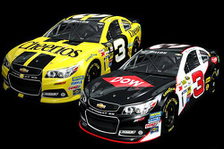 The No. 3 Chevrolet to be raced by Austin Dillon