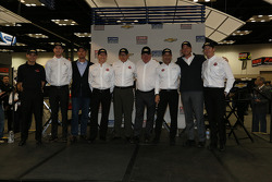Target Chip Ganassi Racing team photo