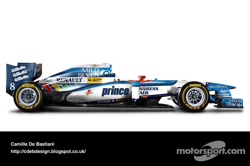 Auto Retro F1 - Benetton 1997