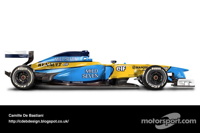 Auto Retro F1 - Renault 2002