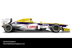 Retro F1 car - Williams 1988
