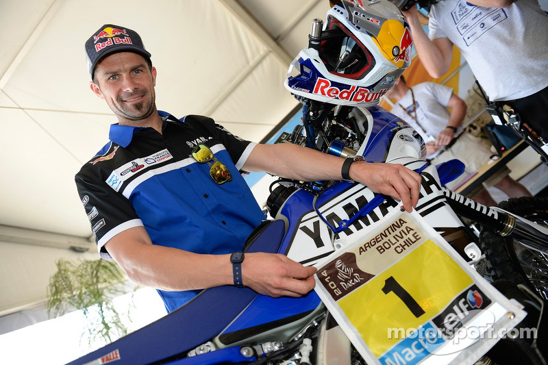 Cyril Despres, Yamaha
