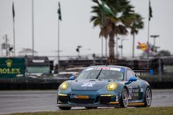 #23 Team Seattle / Alex Job Racing 保时捷 911 GT America: 伊恩·詹姆斯, 马里奥·法恩巴赫, 阿历克斯·里韦拉斯, 马可·霍尔泽