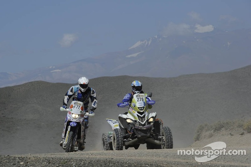 #177 Yamaha: Francesco Catanese and #276 Yamaha: Jeremias Ferioli