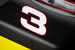 Number 3 on the Austin Dillon, Richard Childress Racing Chevrolet