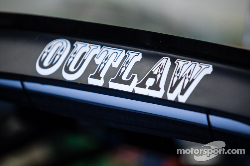 Kurt Busch'un aracı üzerinde pilot ismi, Stewart-Haas Racing Chevrolet