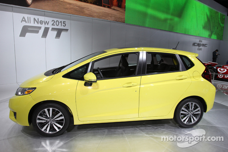 Honda Fit At North American International Auto Show Detroit