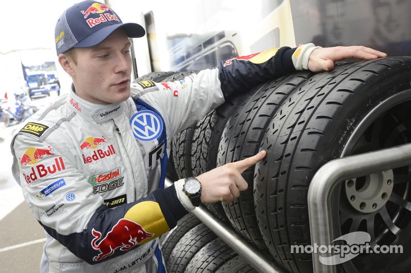 Jari-Matti Latvala parla delle gomme Michelin