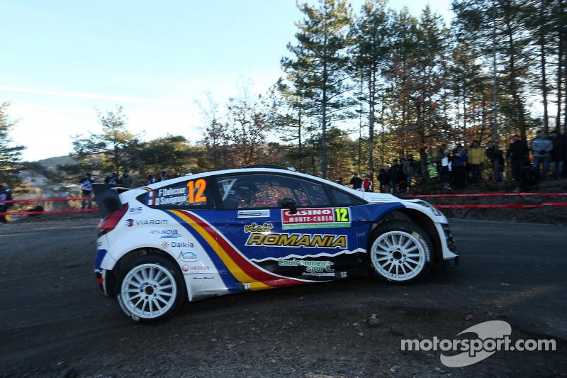 Francois Delecour ve Dominique Savignoni, Ford Fiesta WRC