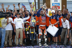 Second place bike category #4 KTM: Jordi Viladoms