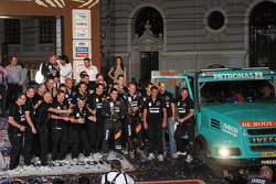 Segundo lugar categoria caminhões #501 Iveco: Gerard de Rooy, Tom Colsoul, Darek Rodewald