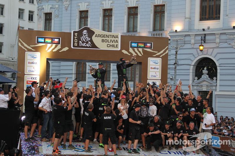 Araç kategori kazananları #304 Mini: Nani Roma, Michel Perin