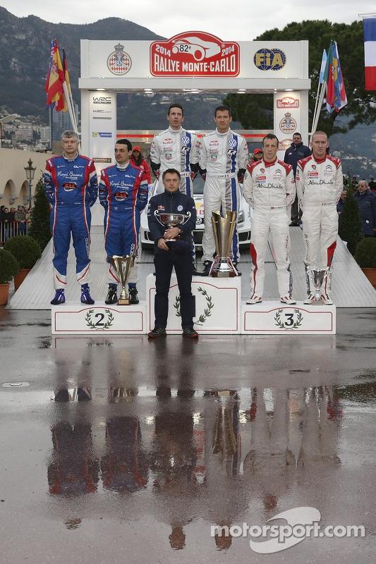 Vincitori Sébastien Ogier e Julien Ingrassia, secondo posto Bryan Bouffier e Xavier Panseri, terzo p