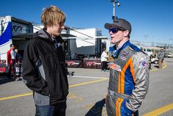 Brendon Hartley y Conor Daly