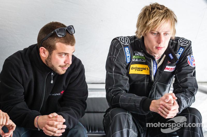 EJ Viso and Brendon Hartley