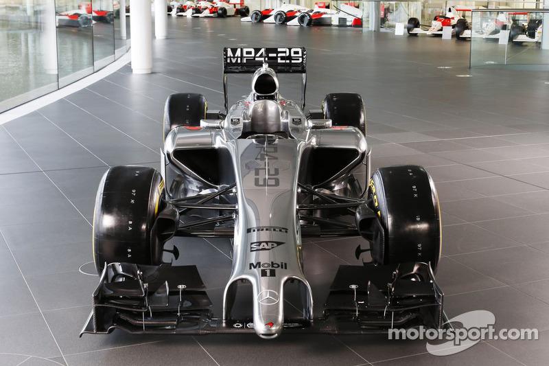 2014: McLaren Mercedes MP4-29
