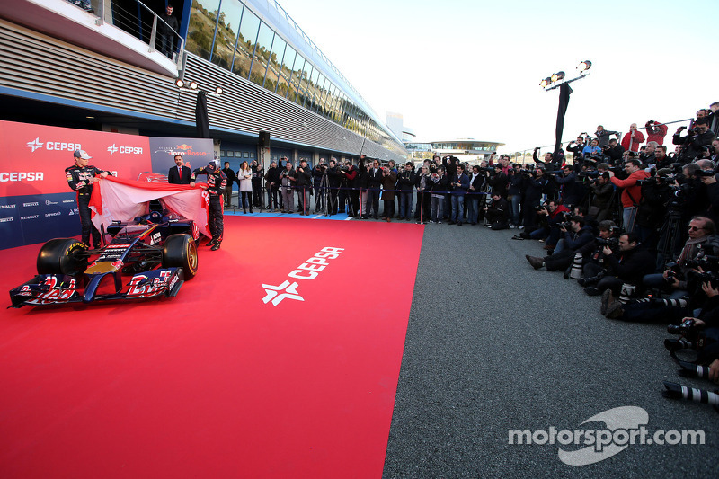 Daniil Kvyat, Scuderia Toro Rosso and Jean-Eric Vergne, Scuderia Toro Rosso
