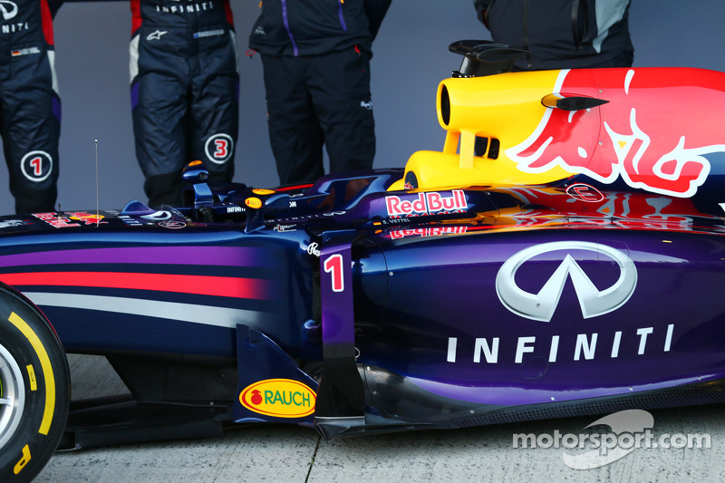 dettaglio Red Bull Racing RB10