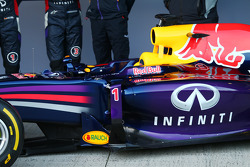 The Red Bull Racing RB10 detail